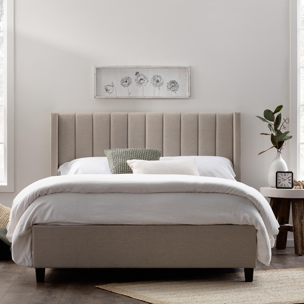 Brookside Adele Vertical Upholstered Bed. Opens flyout.