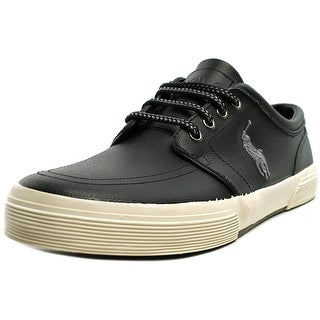 Polo Ralph Lauren Faxon Low    Leather  Fashion Sneakers