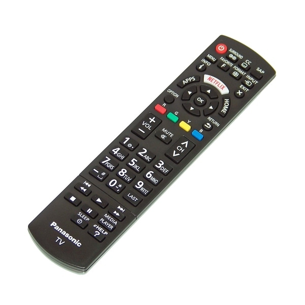 OEM Panasonic Remote Control Originally Shipped With: TC50CX600U, TC50CX600U, TC65CX850, TC-65CX850