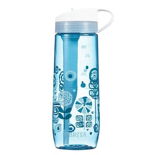 Brita 35802 Hard Sided Water Filter Bottle, 24 Oz, Assorted Colors