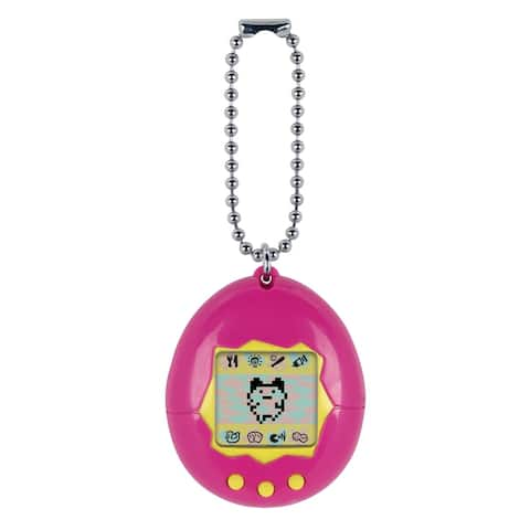 Original Tamagotchi - Pink with Yellow