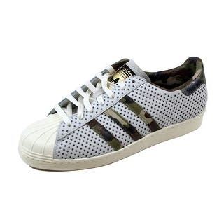 f8a4a8f9a163 Adidas Men s Superstar 80s Quickstrike Vintage White Camo Gold Q16292
