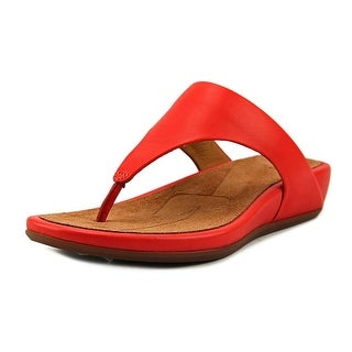 FitFlop Banda Women  Open Toe Synthetic Orange Thong Sandal