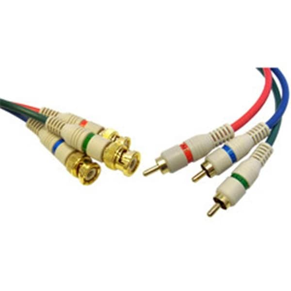 CableWholesale High Quality Component Video RCA to BNC Component