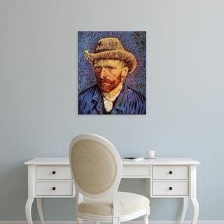 Easy Art Prints Vincent Van Gogh's 'Self