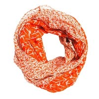 Seagull Print Light Weight Soft Large Infinity Scarf