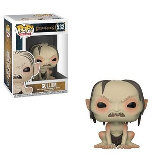 "FunKo POP! Movies Lord of the Rings Gollum 3.75"" Vinyl Figure - multi"