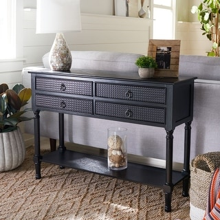 """Link to Safavieh Haines 4-Drawer Console Table - 42"""" W x 13"""" L x 29.5"""" H Similar Items in Living Room Furniture"""