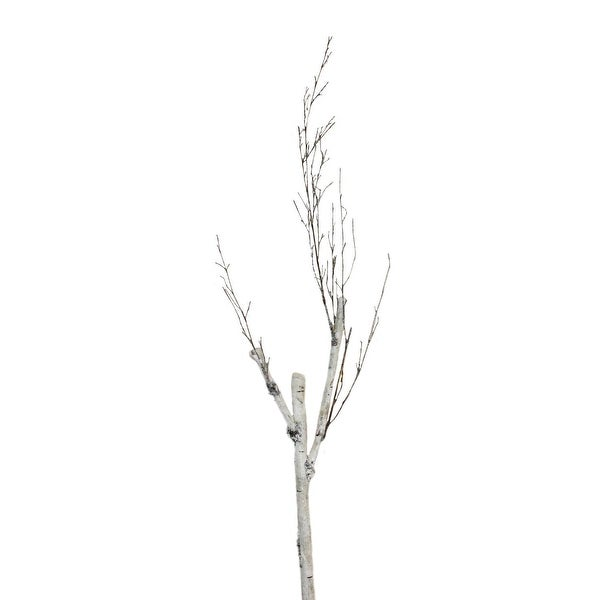 "46.5"" White and Brown Birch Branch Decoration"