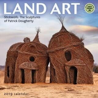 2019 Land Art 2019 Wall Calendar, Nature by Amber Lotus
