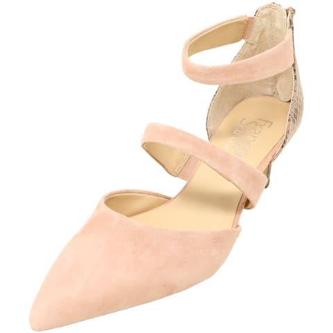 Franco Sarto Women's Davey Suede Ankle-High Heel