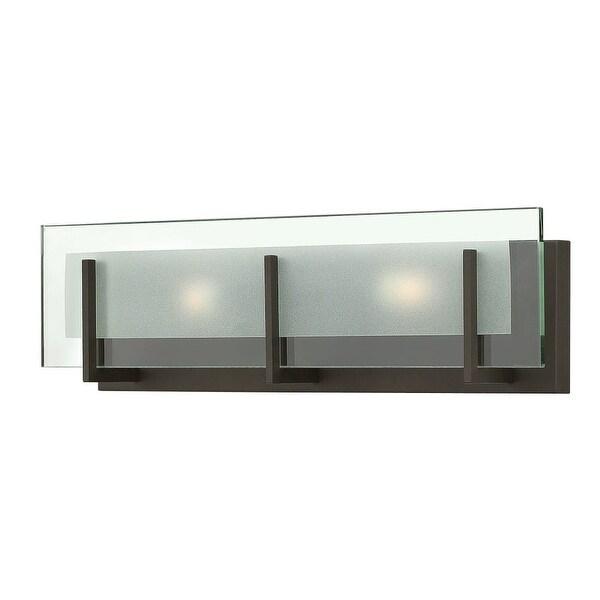 "Hinkley Lighting 5652 2-Light 18"" Width ADA Compliant Bath Bar from the Latitude Collection"