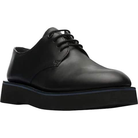 Camper Women's Tyra Oxford Black Smooth Leather