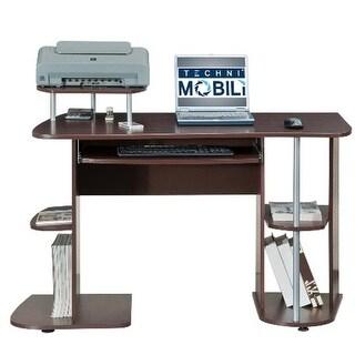 Techni Mobili RTA-8104-CH36 Multifunction Computer Desk - Chocolate