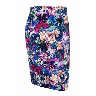 Guess Women's Floral Print Pencil Skirt - S