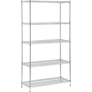 Honey Can Do Chr 5 Tier Shelf SHF-01443 Unit: EACH