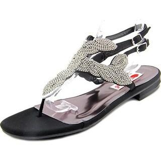 Two Lips Rachel Women Open Toe Canvas Sandals