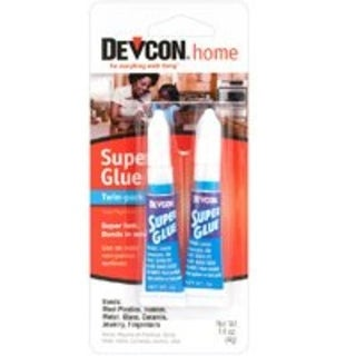 Devcon S-2900 Super Glue, Twin Pack