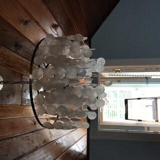 Vaxcel Lighting P0139 Elsa 3 Light Foyer Pendant