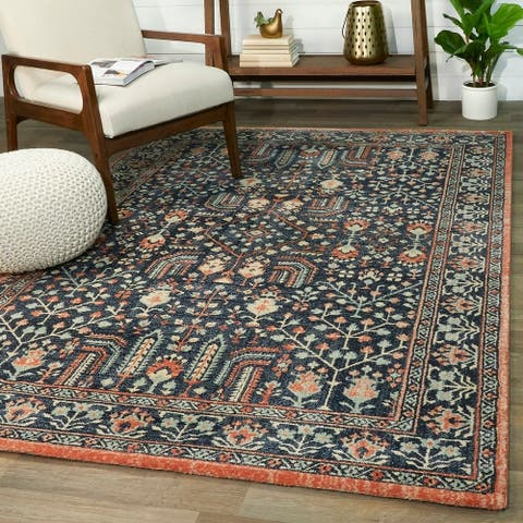 Balta Vintage Farmhouse Persian Oriental Area Rug