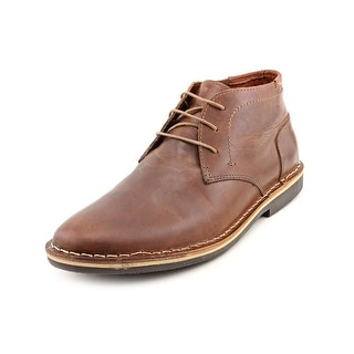 Steve Madden Harken Men  Round Toe Leather Brown Chukka Boot