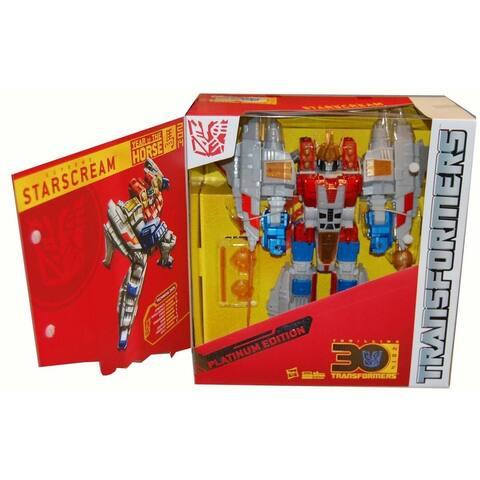 Transformers Platinum Edition Cny Year of The Horse Starscream Action Figure - Multi