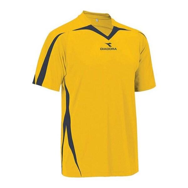 411656d7 Shop Diadora Men's Rigore Jersey Gold/Black - Free Shipping On ...
