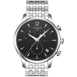 Tissot Men's Tradition Black Dial Watch