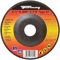 "Forney 71801 Cut-Off Wheel, 4-1/2"""