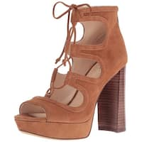Vince Camuto Womens Kamaye Suede Open Toe Special Occasion Platform Sandals