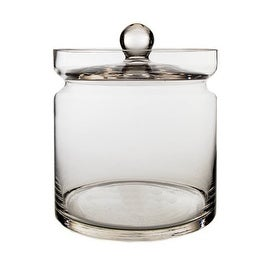"CYS Apothecary Candy Buffet Jar. H-4.75"", Open D-4.5"""