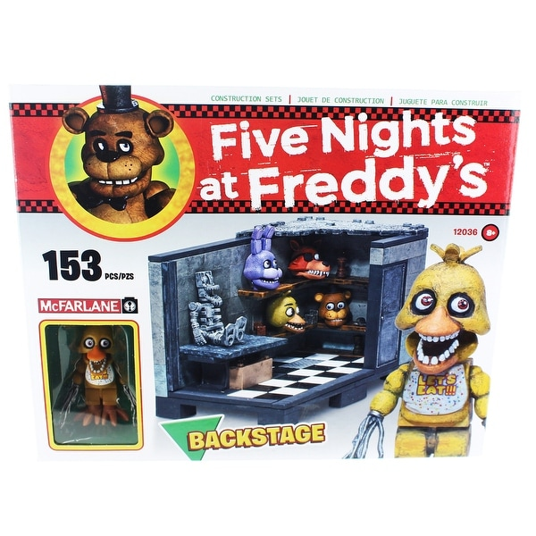 Five Nights at Freddy's Backstage Construction Set - Multi
