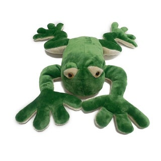 "Wishpets Unisex-Child Frog Plush Toy 18.5"" Green"