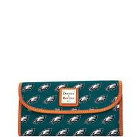Dooney & Bourke NFL Philadelphia Eagles Continental Clutch Wallet (Introduced by Dooney & Bourke at $128 in Aug 2016)