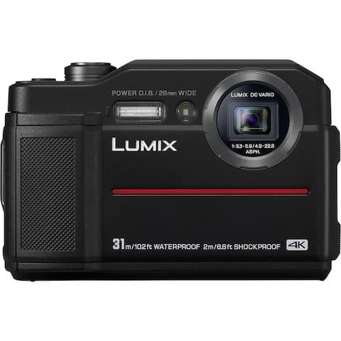 Panasonic LUMIX TS7 Waterproof Tough 20.4 MP Digital Camera (Black)