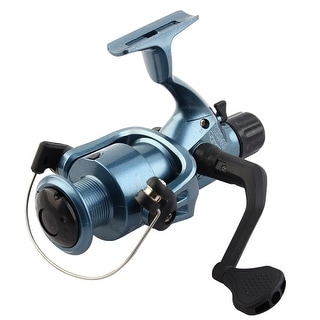 Unique Bargains 5.1:1 Gear Ratio Foldable Handle Anti-reverse Lever Spinning Fishing Reels