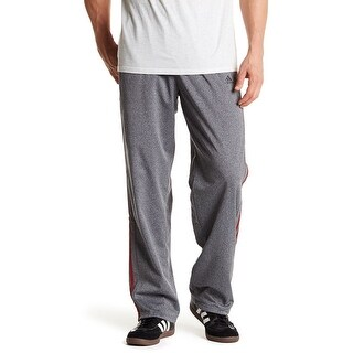 Adidas NEW Gray Red Mens Size Medium M Tricot Athletic Track Pants