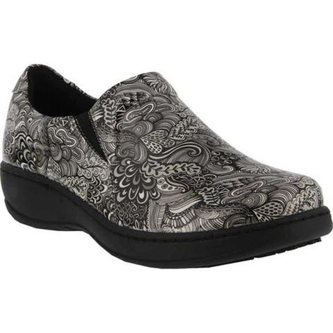 3867603fb Spring Step Women s Belo Clog Silver Multi Synthetic