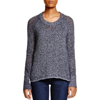 Sanctuary Womens Sweater Open Stitch Knit