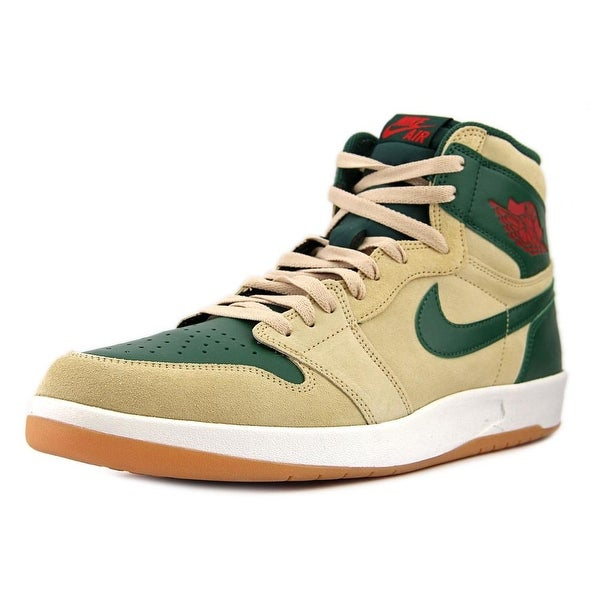 Jordan 1 High the Return Men Round Toe Synthetic Tan Sneakers