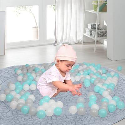 200pcs Fun Soft Plastic Ocean Ball Swim Pit Toys Baby Kids Toys 3 Color