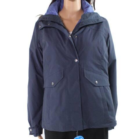 Columbia Women's Jacket Blue Size Small S Vista Interchange Faux-Fur