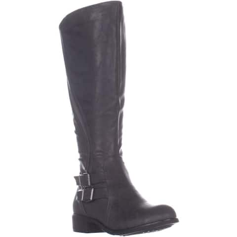 Style & Co. Womens Milah Almond Toe Knee High Fashion Boots