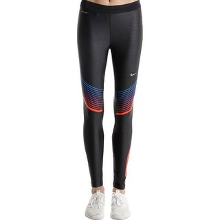 Nike Pro Womens Combat Athletic Tights Quick Dry Mositure Wicking