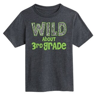 Wild About 3Rd Grade - Youth Short Sleeve Tee