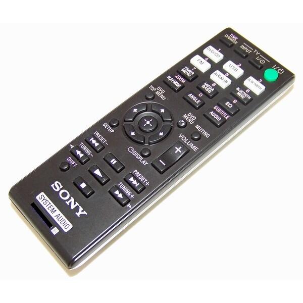 OEM Sony Remote Control Originally Shipped With: CMT-SBT40D, HCD-SBT40D, CMTSBT40D, HCDSBT40D
