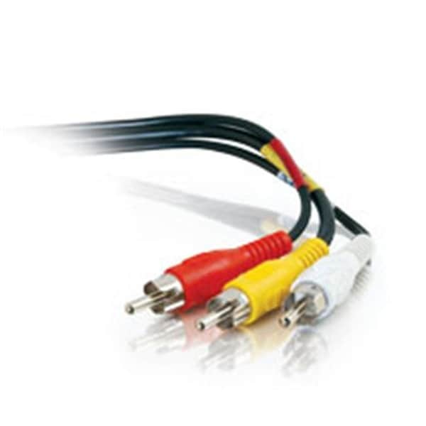 Cables To Go 40447 3Ft Value Series Rca Type Audio Video Cable