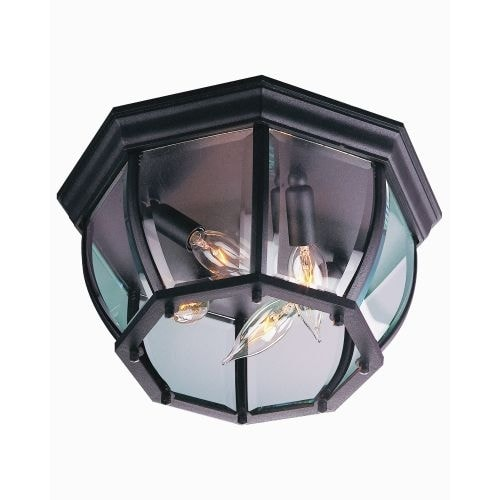 Craftmade Z434 4 Light Outdoor Flush Mount Ceiling Light