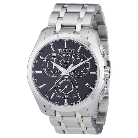 Tissot Men's T0356171105100 'Couturier' Chronograph Stainless Steel Watch - Multi