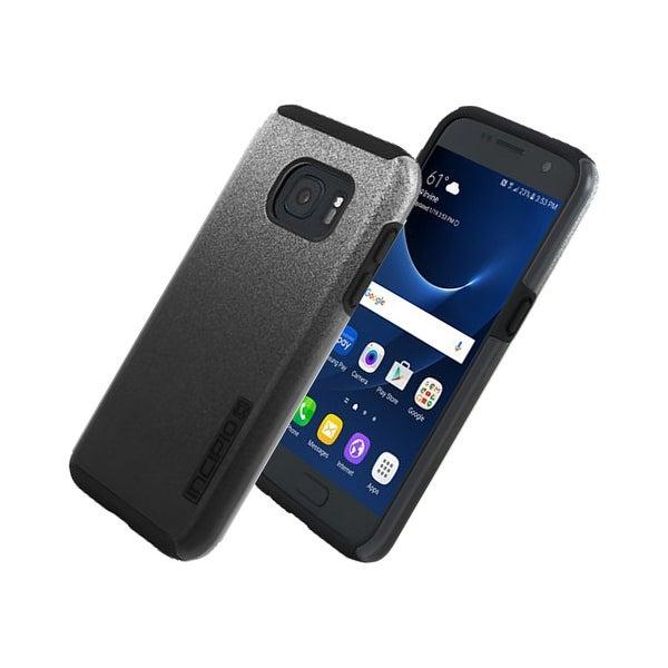 best loved a8e55 dead3 Incipio DualPro Shock-absorbing Case for Samsung Galaxy S7 - Black Glitter